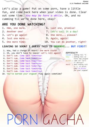 Porn Gacha