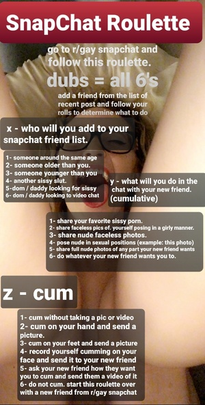 Snapchat roulette