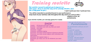 Gaming training roulette