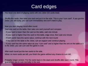 Card edges