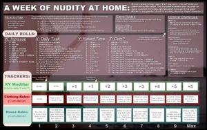 A Week of Nudity at Home