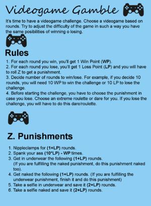 Videogame Gamble