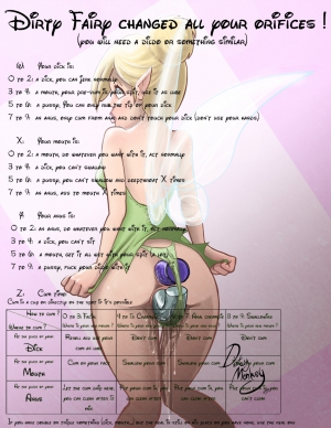 disney Dirty Fairy changed all your orifices!