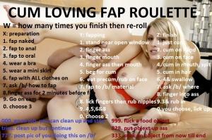 cum loving fap roulette