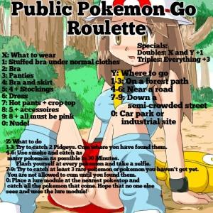 Public Pokemon Go Roulette