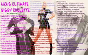 aika's ultimate sissy roulette