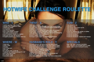Hotwife Challenge Roulette v2.0