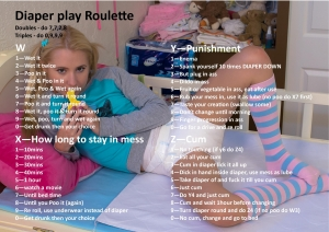 Diaper Play Roulette