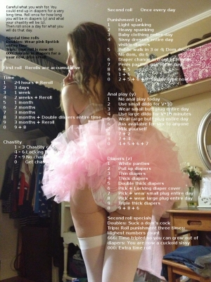 Sissy diaper punishment
