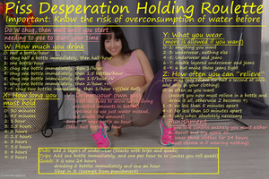 Piss Desperation and holding Piss Control