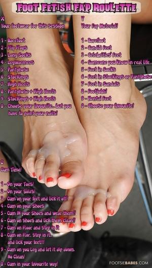 Foot Fetish Fap Roulette