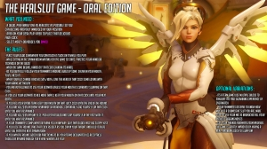 Mercy Overwatch Healslut - Oral Edition