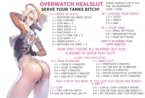 Overwatch Healslut Ultimate Edition