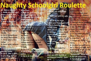 Naughty Schoolgirl Roulette