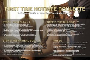 First Time Hotwife Roulette