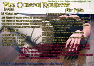 Piss Control Roulette