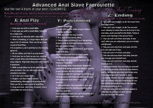 Advanced Anal Slave Faproulette