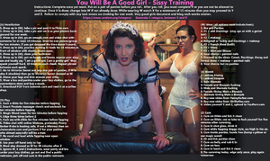 You Will Be A Good Girl - Sissy Training