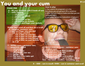 Cum and play