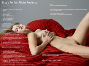 Sissy's Perfect Night Roulette