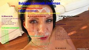 Bukkake Cumwalk Challenge