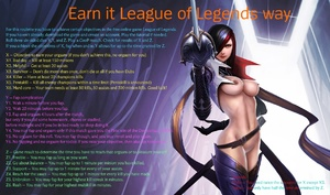 Earn it League of Legends way