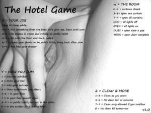 The Hotel Game Cum and anal play