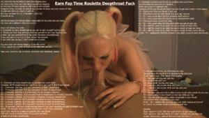 Earn Fap Time Roulette Deepthroat Fuck