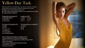 Yellow Day Task - Basic | German, Prostitute