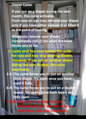 Diaper Curse