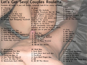 Let's Get Sexy Couples Roulette