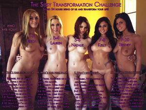 Sissy Transformation Challenge