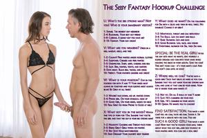 Sissy Fantasy Hookup Challenge