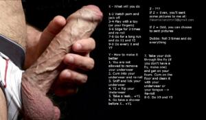 Underwear play