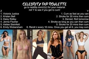 Celebrity Fap Roulette
