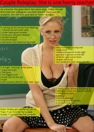 She is one Horny Teacher