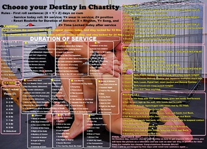 Choose Your Destiny in Chastity