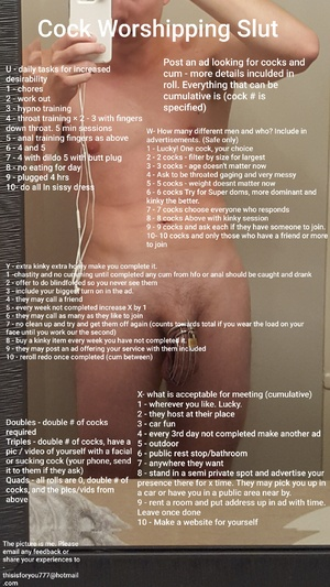 Cock Worshipping Slut