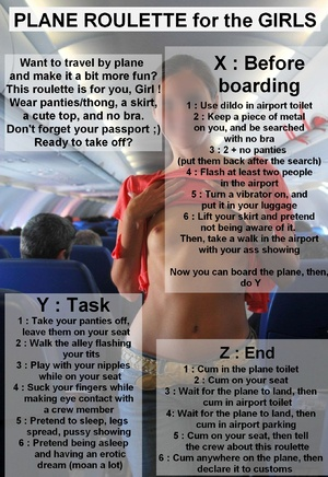 Plane roulette for the girls!