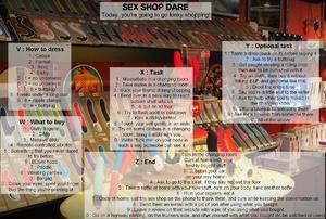 SEX SHOP DARE