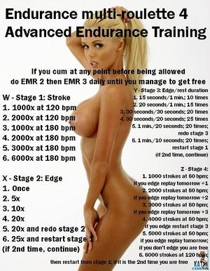 Endurance Multi-Roulette 4: Advanced Endurance Training