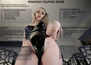 Couples Femdom Roulette