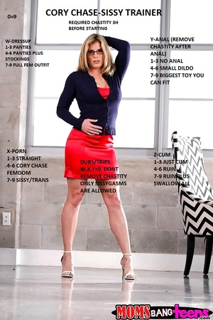 CORY CHASE SISSY TRAINER