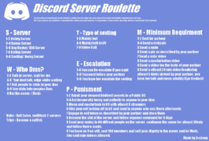 Discord Sexting Roulette