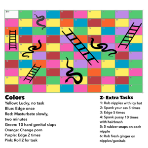 Snakes and Ladders Edging Game