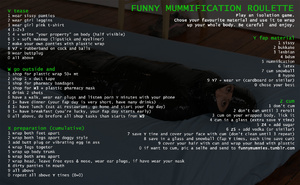 Funny mummification roulette