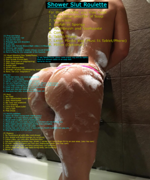 Shower Slut Roulette