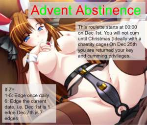 Advent Abstinence