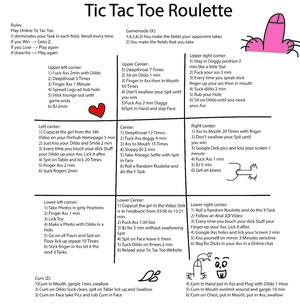Tic Tac Toe Roulette