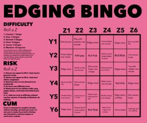 Edging Bingo